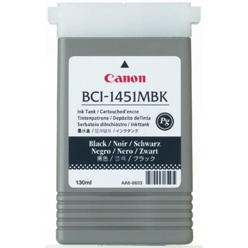 CANON Matt svart bläckpatron 130 ml (BCI-1451MBK)