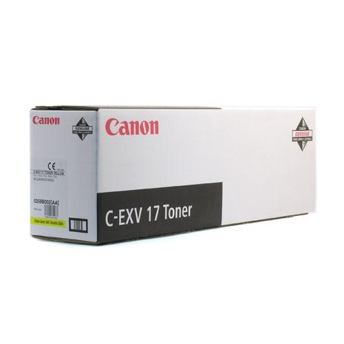 CANON gul toner Type C-EXV 17