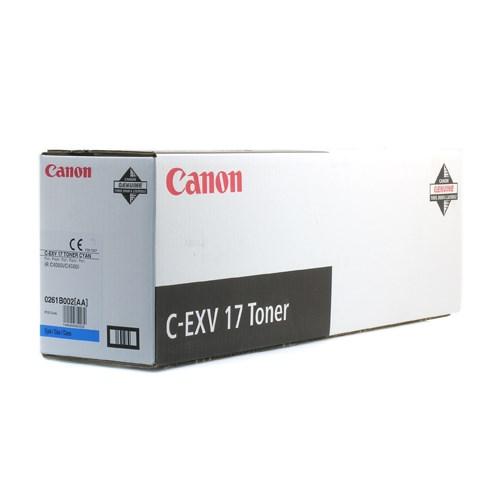 CANON Cyan toner Type C-EXV 17