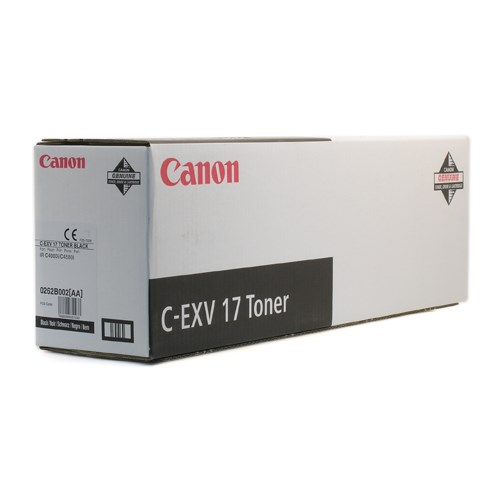 CANON svart toner Type C-EXV 17