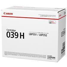CANON toner CRG-039H original svart 25000 sidor