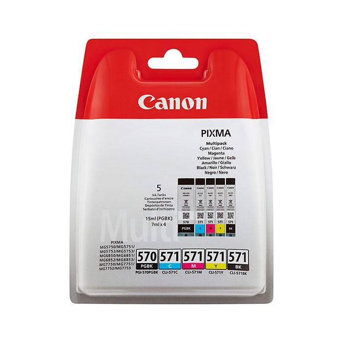 CANON Multipack bläckpatroner 0372C004 original PGBK/C/M/Y/BK