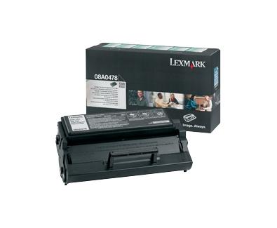 LEXMARK svart toner 6.000 sidor