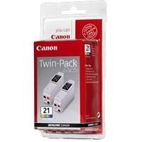 CANON Twin Pack (BCI-21CL) Blister
