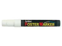 Poster Marker ARTLINE Rund 2.0 mm vit á (12st)