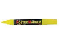 Poster Marker ARTLINE Rund 2.0 mm gul á (12st)
