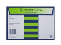 Kuvert konsument fp C5 Vit P/S 100/FP