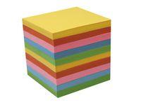 Blockkub refill färg. papper 90x90 800b