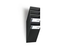 Blankettfack Flexiboxx A4S 6-fack svart