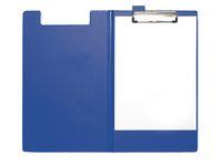 Skrivplatta STAPLES med omslag blå
