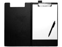 Skrivplatta STAPLES med omslag svart