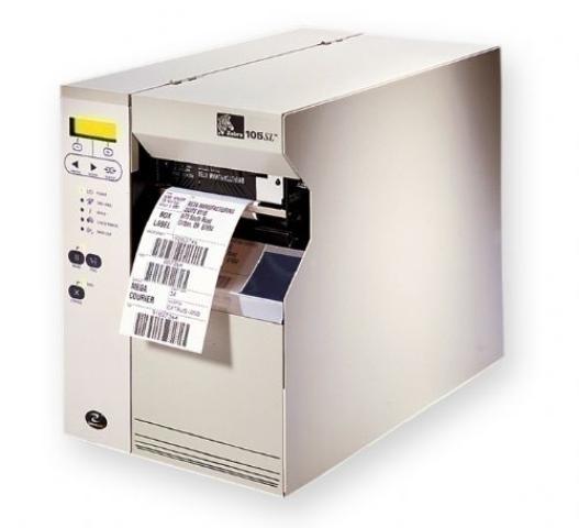 ZEBRA 105SL 300DPI REWIND WITH PEELPRNT Z-NET 10/100 IN