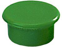 Magnetknappar DAHLE 13mm grön 10/FP