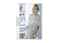 Klämmapp DURABLE Swingclip 2260 A4 vit á (5st)