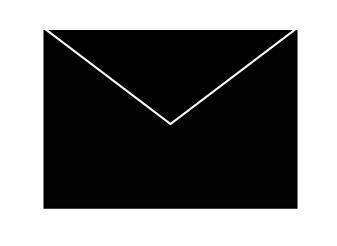 COLORIT Svarta kuvert C5 med täckremsa 500ST
