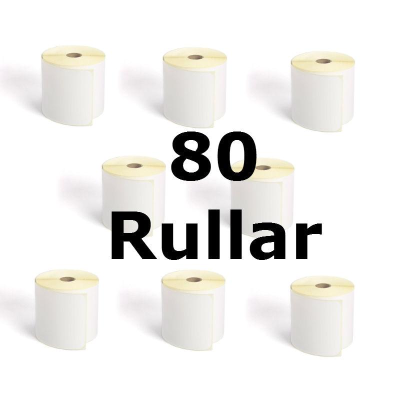 Transportetikett termo 105x220 80x300 ST TR016T (80 RULLAR)