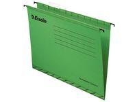 Hängmapp ESSELTE folio 365x240mm grön á (25st)