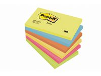 Notes POST-IT Energetic 76x127mm á (6st)