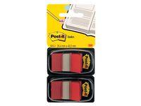 Index POST-IT dubbelpack 2x50 flik. röd á (6st)