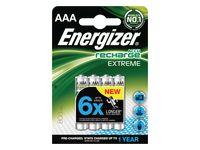 Batteri Laddbar ENERGIZER AAA Extreme(4