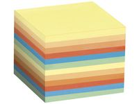 Blockkub STAPLES 90x90x90 800bl flerfär