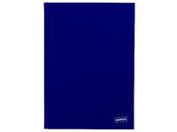 Anteckningsbok STAPLES A4 rutad blå