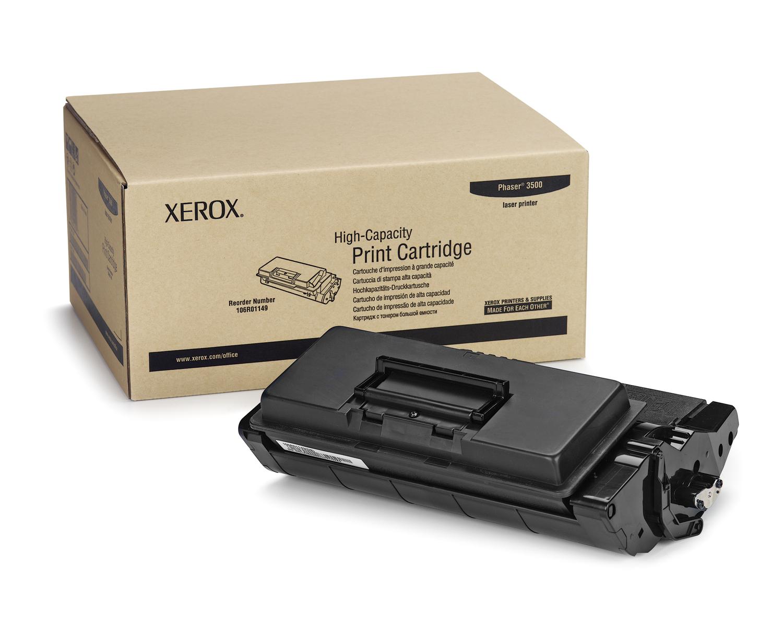 XEROX svart toner 12.000 sidor