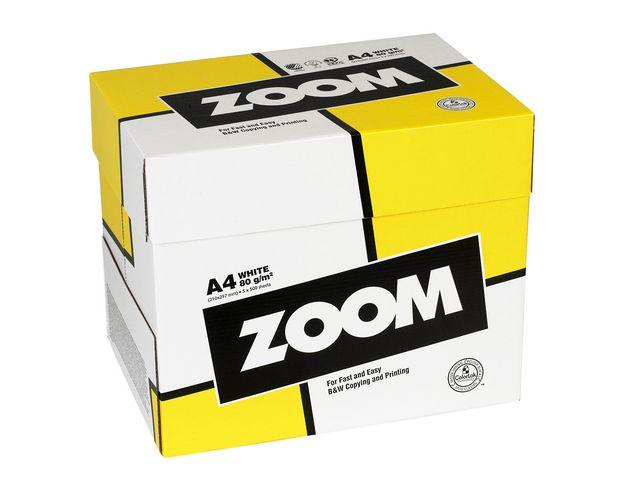 ZOOM kopieringspapper A4 80g hålat 1 KRT