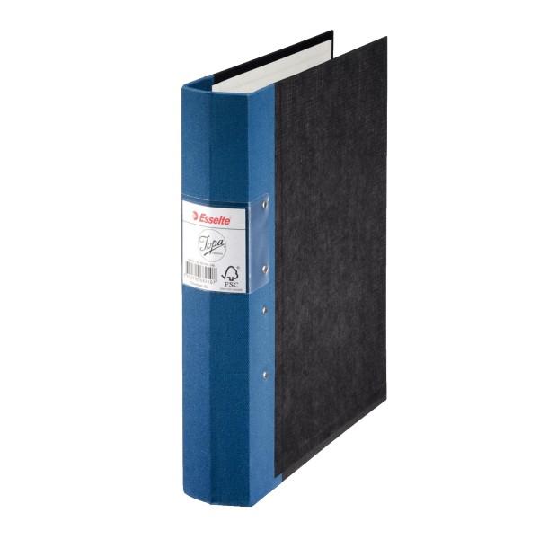 Blå träryggspärm från Jopa 60 mm