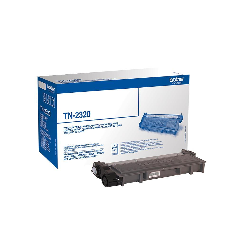 TN2320 - Brother toner TN-2320 original svart 2.600 sidor