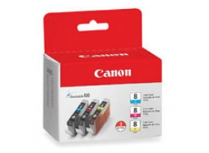 CANON CLI-8 ChromaLife Multipack Incl. C/M/Y bläckpatrons
