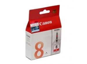 CANON CLI-8R röd bläckpatron