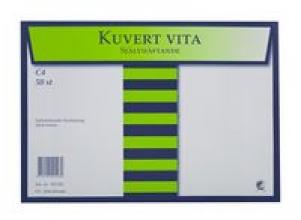 Kuvert konsument fp C4 Vit P/S 50/FP