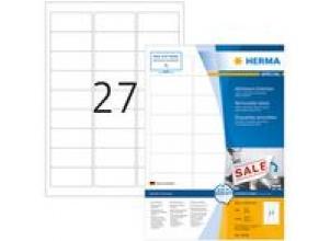 Etikett HERMA Movable 63,5x29,6mm2700/FP
