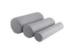 Cylinderkudde H1 grå 10x50cm hård