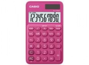 Miniräknare CASIO SL-310UC Röd