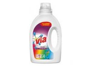 Tvättmedel VIA flytande Color 1080ml