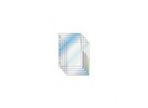 Plastficka Signal A4 0,13mm gul
