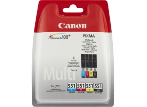 CANON Multipack C/M/Y/B CLI-551
