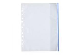 Plastficka Mapp A4 0,12mm blå 100/FP