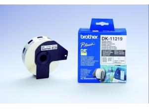 BROTHER QL 650TD Address Labels vit 12 mm