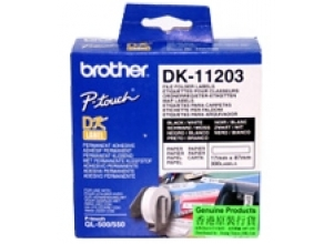 BROTHER QL etiketter 17x87mm 300-Pack