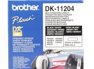 BROTHER QL Etiketter 17x54mm 400-Pack