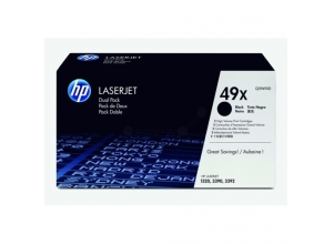 HP svart Smart Print Cartridge *2-pack*