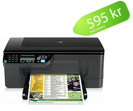 HP OfficeJet kampanjpris