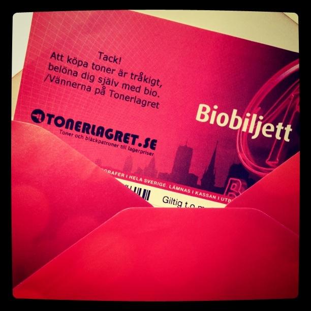 Biobiljetter Tonerlagret