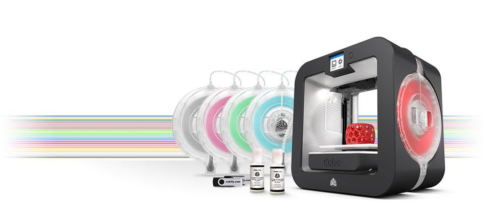 3D skrivare och filament till 3D printer
