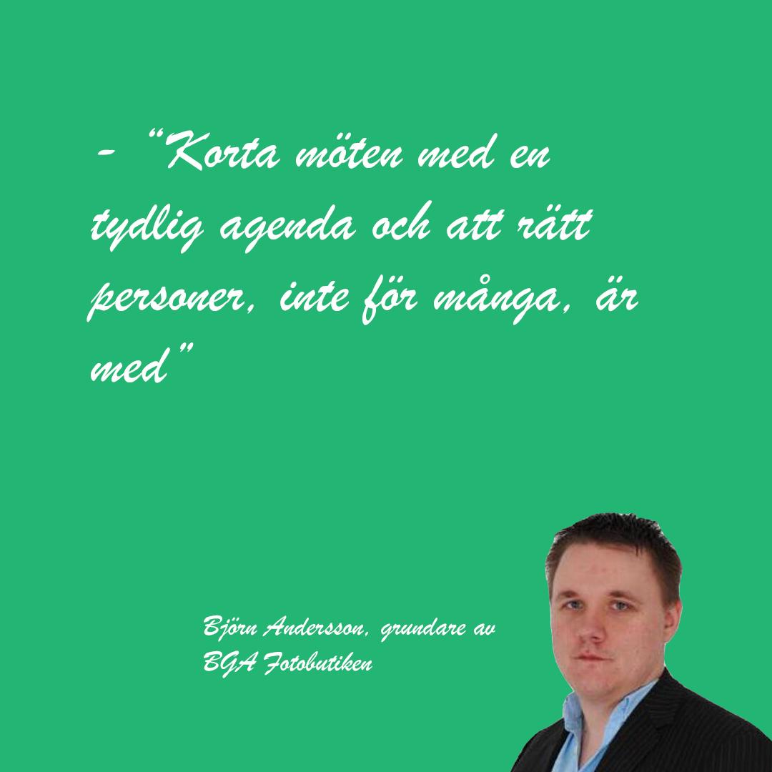 Björn Andersson, grundare och VD för BGA Fotobutiken, tipsar