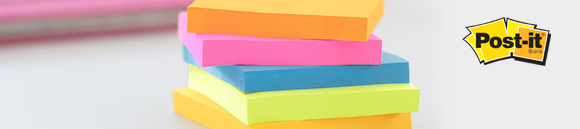 Post-It block big notes alla storlekar